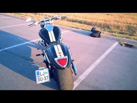 Suzuki m90/m1500 with Cobra Swept Speedster Exhaust