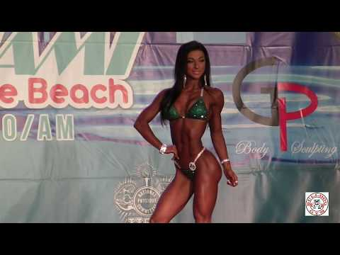 IFBB Pro Bikini All Competitors 2017 Miami Muscle Beach