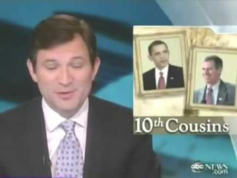 President Obama & Scott Brown are Cousins ABC