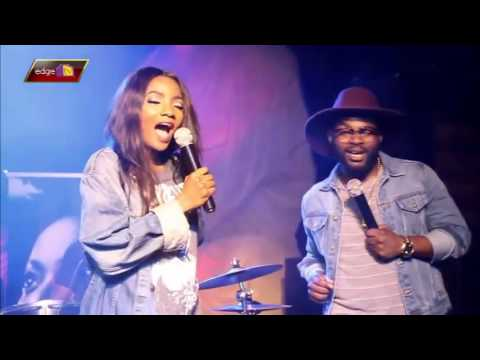SIMI KISSES FALZ LIVE ON STAGE @ INDUSTRY NITE Latest Gist