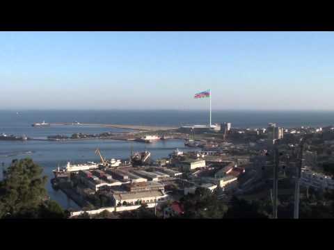 Baku: View from Martyrs' lane