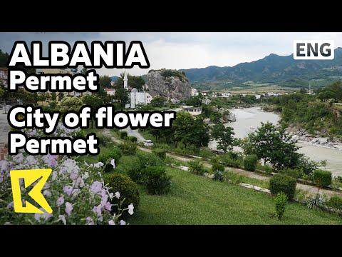 【K】Albania Travel-Permet[알바니아 여행-퍼르메트]꽃의 마을 퍼르메트/Flower/Stone