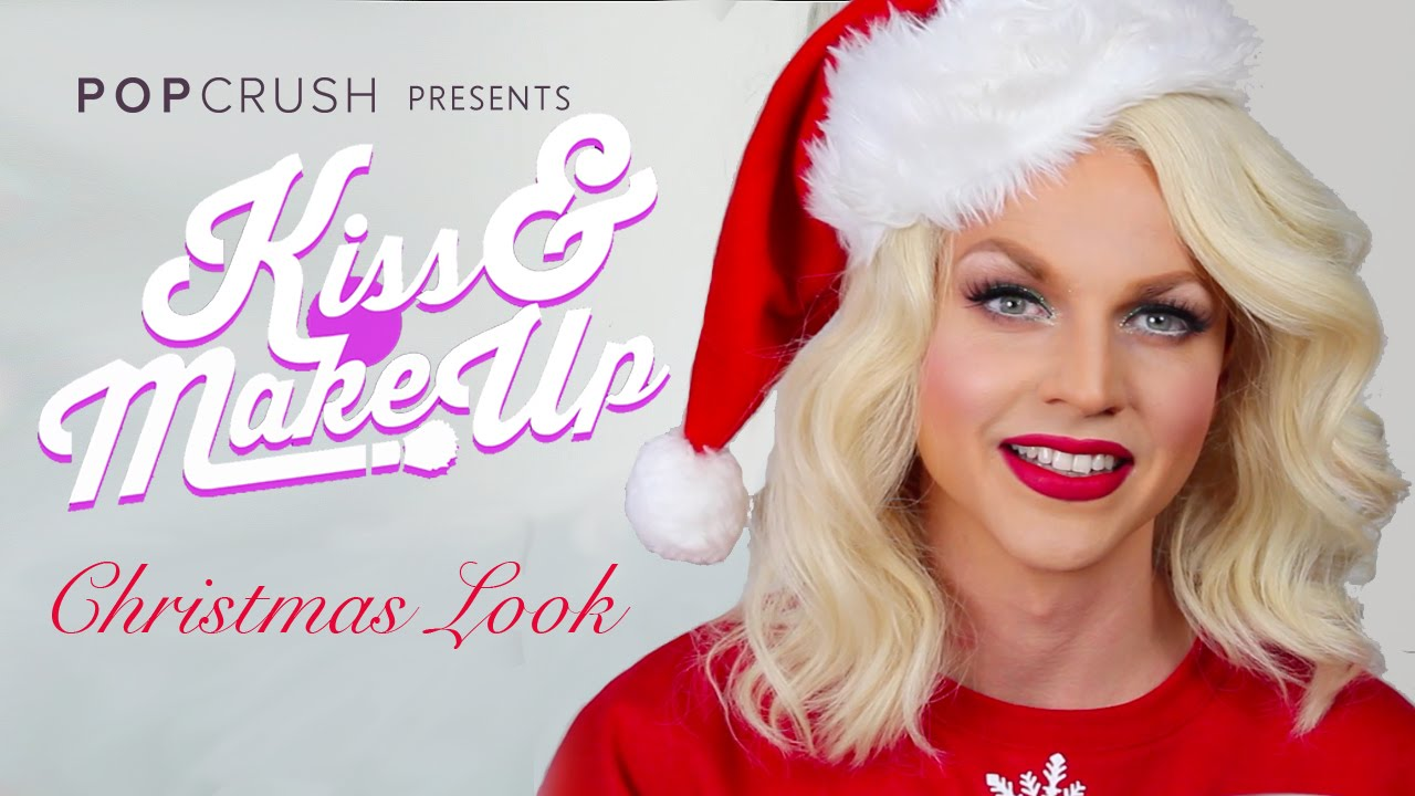 Christmas Glam Tutorial: Kiss & Make-Up with Courtney Act - YouTube