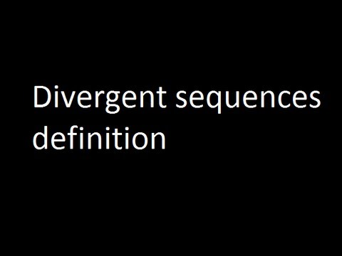 Divergent Sequences Definition   YouTube