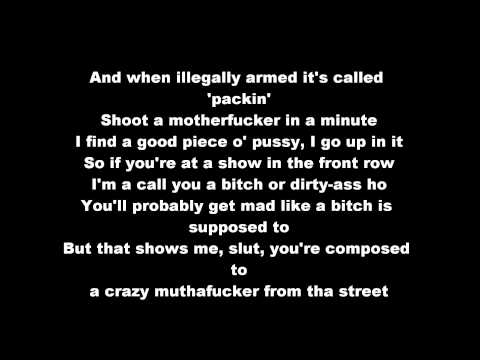 NWA - Straight Outta Compton (HD & Lyrics On Screen)