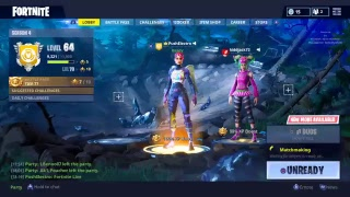 (Fortnite Live) COME CHILL NEW SKIN PushElectro SLOWEST BUILDER |8x 8y| Battle Royale