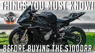 Things you MUST know before buying a BMW S1000RR