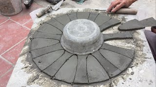 Creative Ideas From Cement How To Make Flower Pots For Home-Garden Decoration