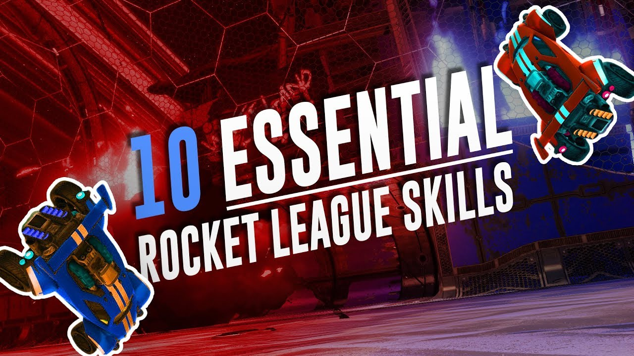 10 Must-Have Skills to reach Supersonic Legend in Rocket League! [Tutorial]