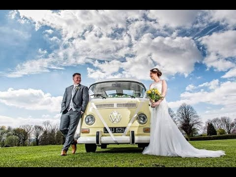 VW Campervan Wedding Car