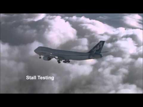 Stalling 747 Jumbo Aircraft