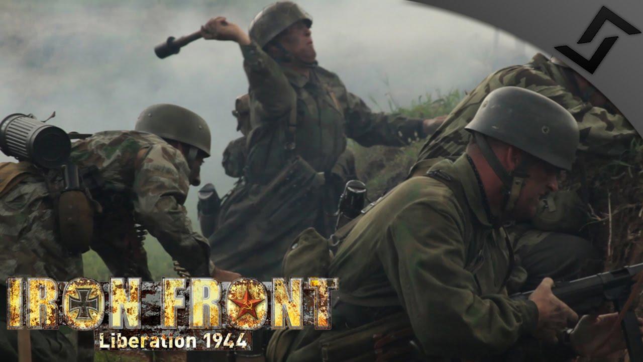 Fallschirmjäger CHARGE in Russia - Iron Front ARMA 3 - WW2 ARMA 3 Gameplay