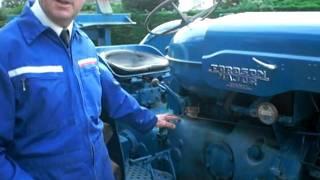 Fordson Major Diesel Tractor- Mareham le Fen