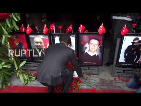 Turkey: Istanbul Pays Homage To Reina Attack Victims