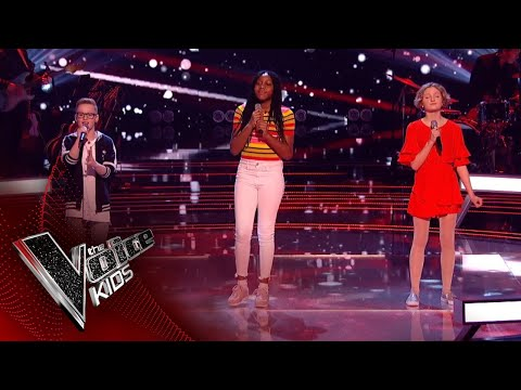 Jude, Sienna and Zoe Perform 'Almost Is Never Enough': Battles 2 | The Voice Kids UK 2018