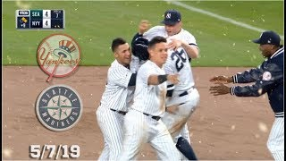 New York Yankees Highlights: vs Seattle Mariners | 5/7/19