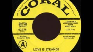 Buddy Holly - Love is strange - 1956