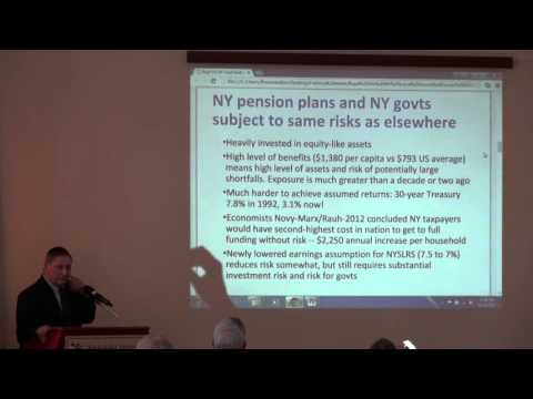 Panel II - Public Employee Pensions: Investment Risk & Local Contribution Policy Implications in NYS