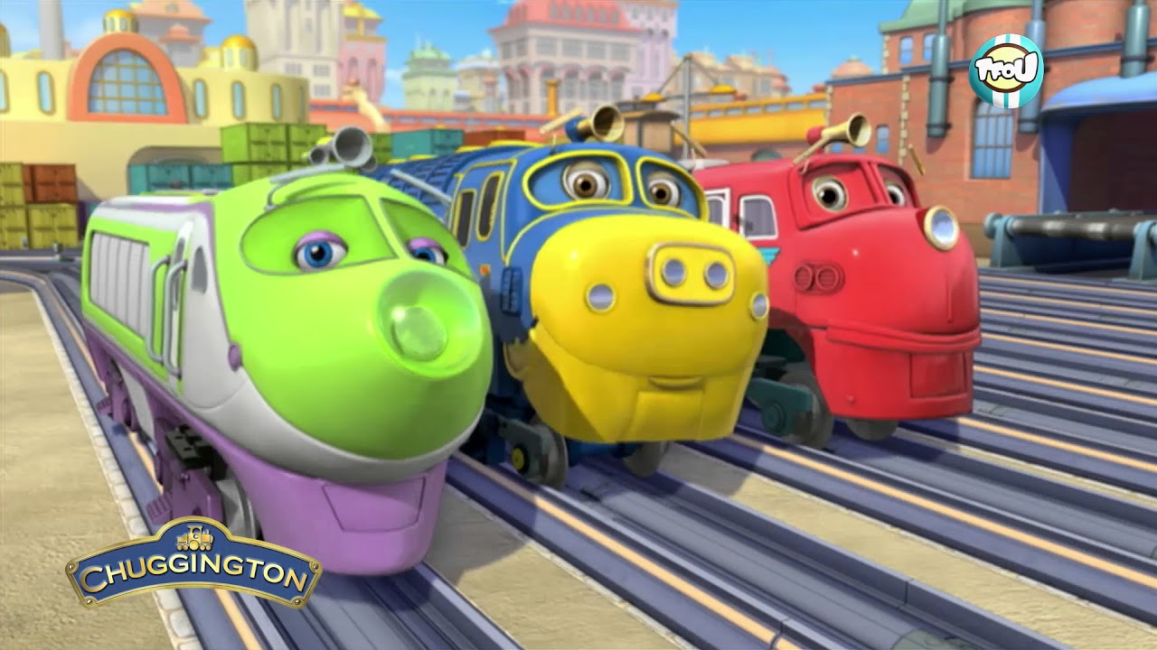 Le g n rique de chuggington youtube - Train dessin anime chuggington ...