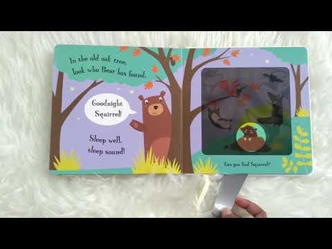 GOODNIGHT BEAR - MAGIC TORCHLIGHT BOOK BY JOSHUA GEORGE