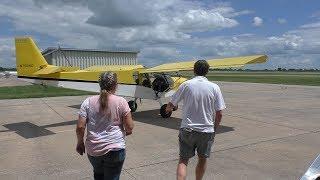 Zenith STOL CH 750 light sport aircraft: First flight demonstration