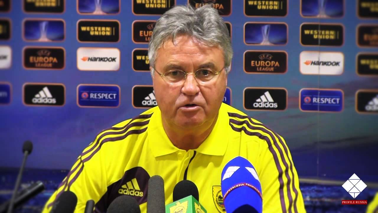 Pre Match Press Conference FC Anzhi Guus Hiddink