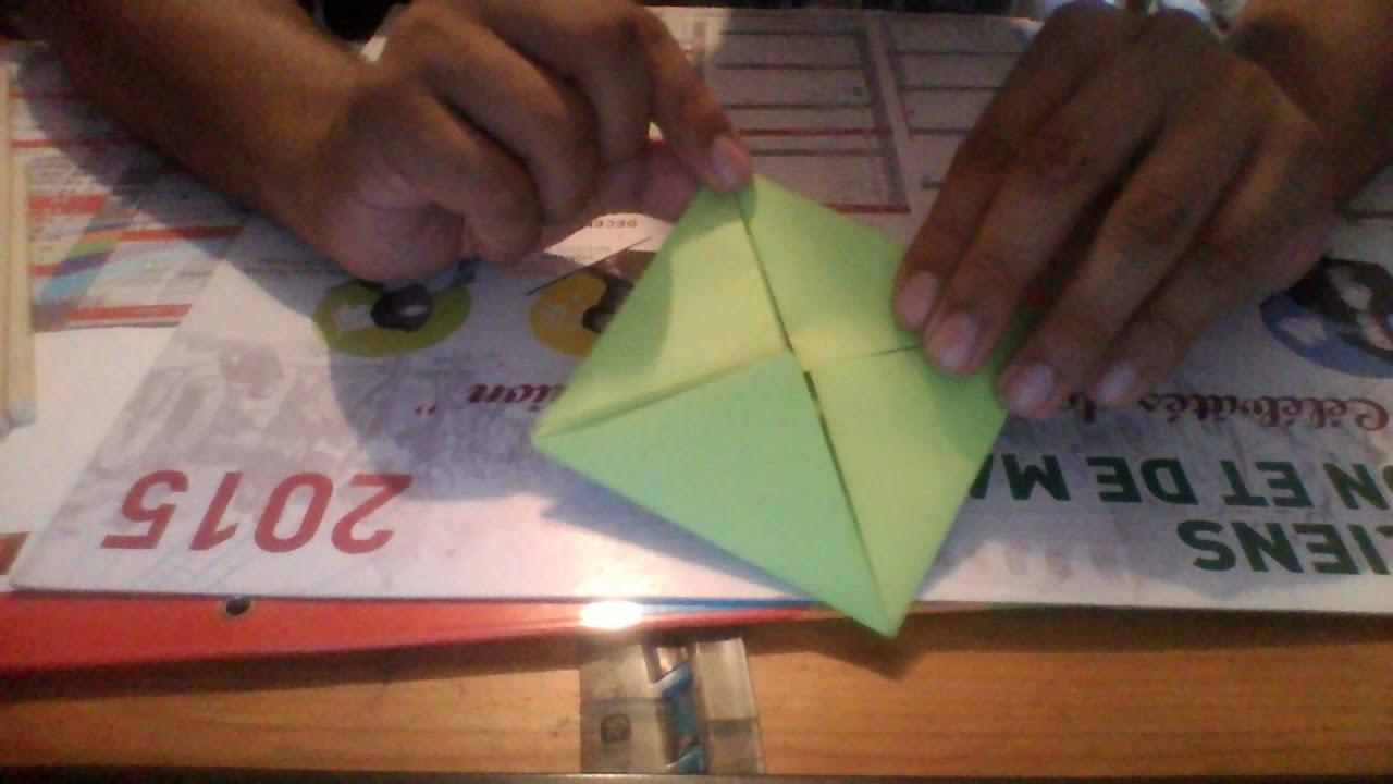 Tuto Fair Une Fleur De Lotus En Origami Youtube