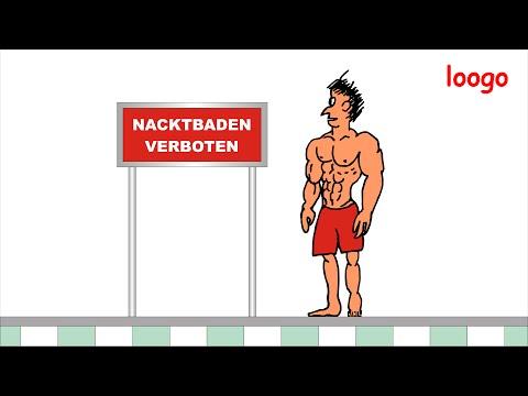 Nacktbaden verboten......