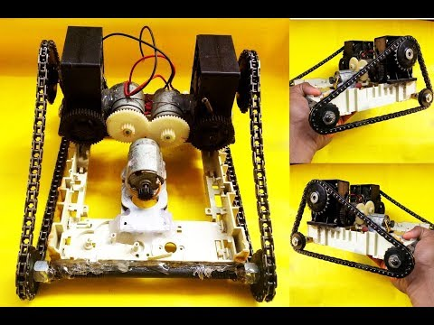 How To Make Remote Control ARMY TANK At Home [ IN HINDI ] !! RC Tank !!