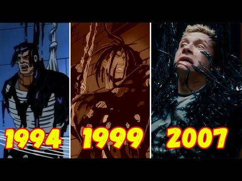 Эволюция Превращения Эдди Брока в Венома (1994-2018)