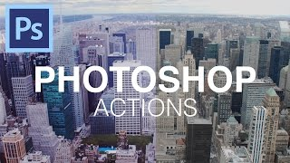 How To Use Photoshop Actions!