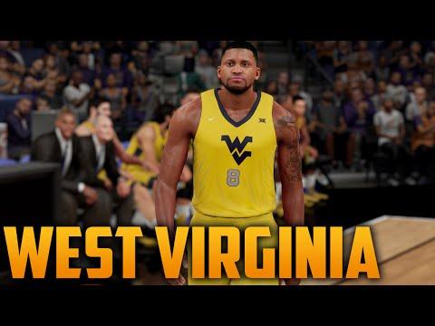 e6cf1b11cd85 NBA 2K16 West Virginia Mountaineers Jersey   Court Tutorial