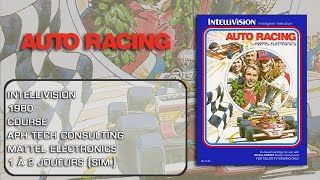 Auto Racing - IntelliVision