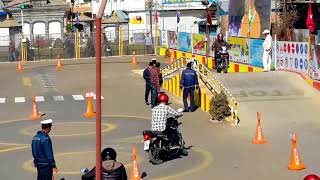Motor cycle trial in Nepal