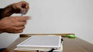 Cómo hacer pincel táctil -stylus capacitivo -punta fina en 30 segundos