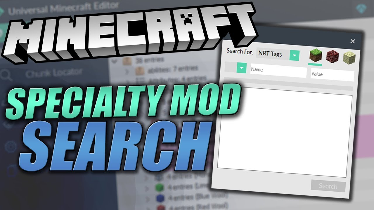 Universal Minecraft Editor - 1 1 6 Update & NEW Search Specialty Mod  Showcase!