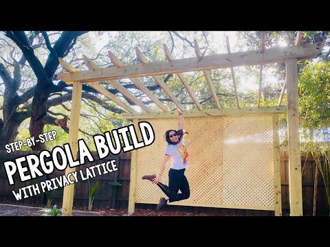 diy-pergola-with-privacy-lattice-screening---step-by-step-build