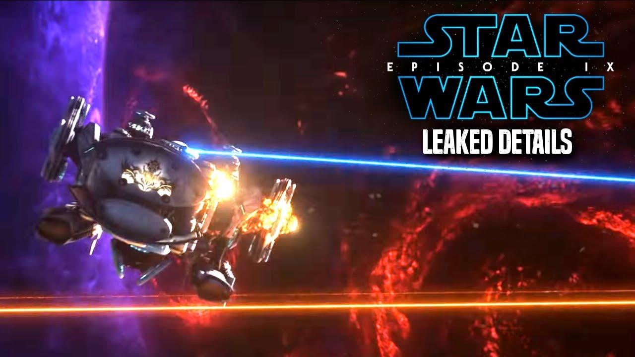 Star Wars Episode 9 Scene Leak Details & Potential Spoilers!