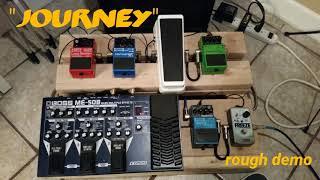 """Journey"" original song. Irig 2 demo. me-50b bass distortion. alternative rock. bass instrumental."
