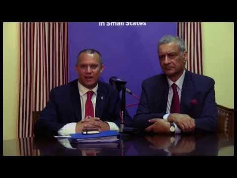 Press Conference - Commonwealth Open-Ended Working Group on Small States, 25 March 2014