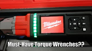"Milwaukee Tool M12 FUEL 3/8"" and 1/2"" Digital Torque Wrenches with ONE-KEY Shop Review"