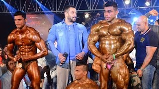 Salman Khan With Gym Body Builders