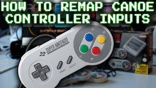 S/NESC - How to remap Canoe controller inputs