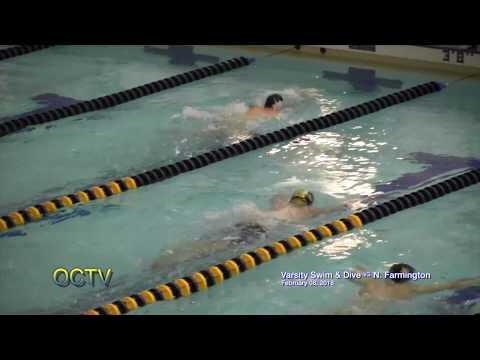 Varsity Swim & Dive vs. N. Farmington:  2-8-18