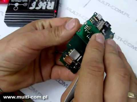 Sony Ericsson Xperia X10 mini (E10i)  JTAG/RIFF connection