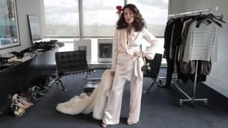 Mademoiselle Agnès est la femme Vogue des années 70  | 95 ANS |  VOGUE PARIS