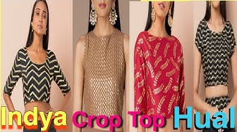 ?Big indya/faballey Wedding Party Crop Tops for your wardrobe ||