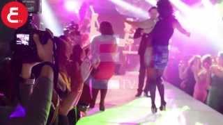 عين | فيديو رقص منة فضالى المثير بفستان  فضيحة مع راغب علامة | Ain
