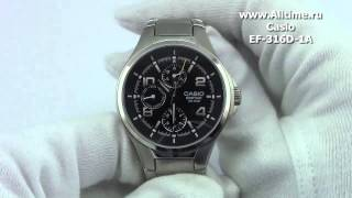 Мужские японские наручные часы Casio Edifice EF-316D-1A(Casio Edifice EF-316D-1A http://www.alltime.ru/catalog/watch/374/casio-edifice/Man/9161/detail.php?ID=59572&back=list., 2013-02-10T07:53:52.000Z)