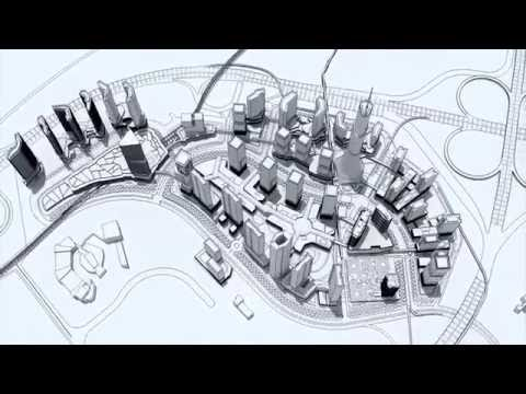 Cyberjaya City Centre Walkthrough Video